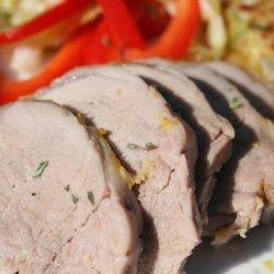 Roast Pork With Piri Piri recipe