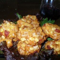Prawn and Chorizo Cakes With Tomato Salsa recipe