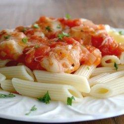 Pasta With Tomato and Mozzarella recipe
