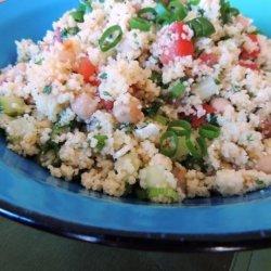 Lemony Couscous Salad recipe
