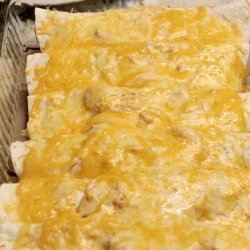 Cream Cheese Chicken Enchiladas recipe