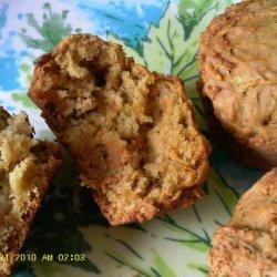Apple Carrot Nut Muffins recipe