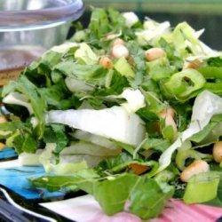 Greek  Farmers Green Salad recipe