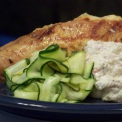 Chicken With Creamy Zucchini and Lime Stuffing recipe