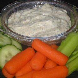 Secret Ingredient Veggie Dip recipe