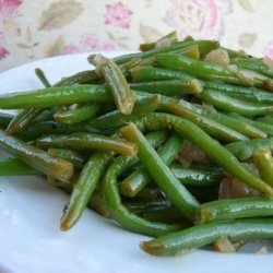Haricots Verts With Shallots and Lemon recipe