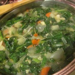 Chicken and Turnip Soup recipe