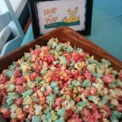 Colored Popcorn recipe