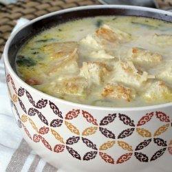 Chicken Florentine Soup recipe