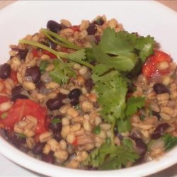Black Beans and Barley recipe