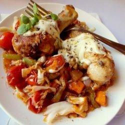 Chicken and Cabbage Casserole recipe