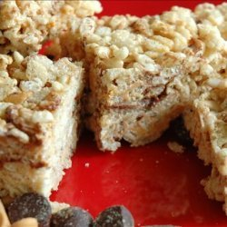 Rice Krispies Treats With Peanut Butter Chips recipe