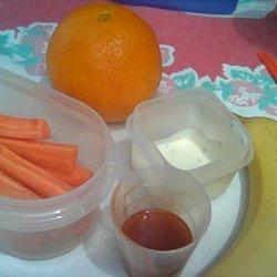 Lunch Box Fillers - Carrot Stix recipe