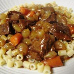 Braised Beef & Onions recipe