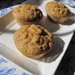 Orange, Banana and Oat Bran Breakfast Muffins recipe