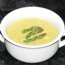 Creamy Asparagus Soup recipe
