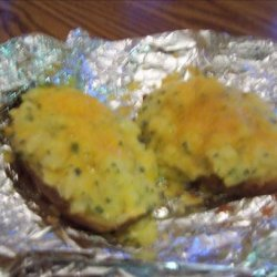 Two for One Potato Skins and Casserole for Two recipe