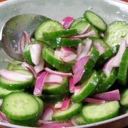 Cucumber Salad (Acar Ketimun) recipe