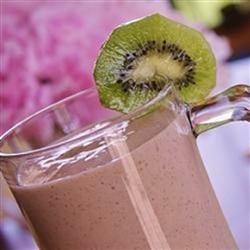 Strawberry Kiwi Milkshakes recipe