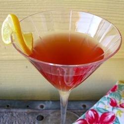 Cosmo-Style Pomegranate Martini recipe