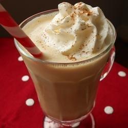 Eggnog Coffee Punch recipe