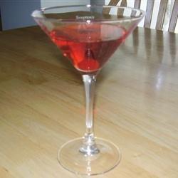 Strawberry Cheesecake Martini recipe