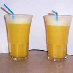 Orange Pineapple Slushie recipe