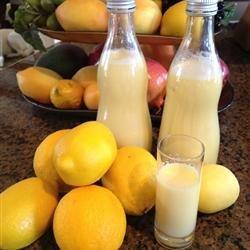 Creamy Limoncello recipe