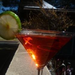 Tres Chic Pomegranate Martini recipe