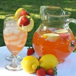 Pink Honey Lemonade recipe