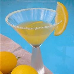 Meyer Lemon Martini recipe