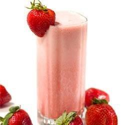 Fresh Strawberry Banana Sunrise Smoothie With Truvia(R) Natural Sweetener recipe