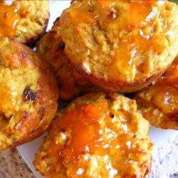Pumpkin Fruit and Nut Muffins recipe