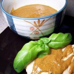 Spicy Peanut Barbecue Sauce recipe