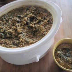 Slow Cooker Red Lentil Dahl recipe