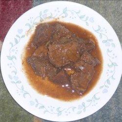 Plum Pot Roast recipe