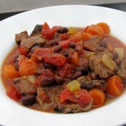 Brazilian Black Bean and Beef Stew recipe