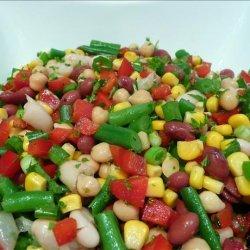 Christmas Bean Salad recipe