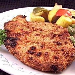 Crunchy Crust Breaded Pork Chops recipe