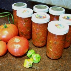 Roasted Poblano and Roasted Garlic Salsa recipe
