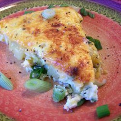 Potato, Red Pepper and Cheese Frittata recipe