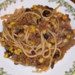 Taco Spaghetti Casserole recipe