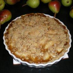 Caramel Pear Dessert recipe