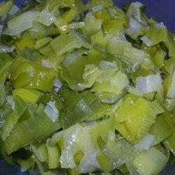 Leek Confit recipe