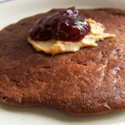 Healthy Cocoa Chocolate Chip Banana Pancakes recipe