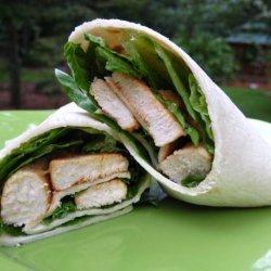 Spicy Buffalo Chicken Wraps recipe