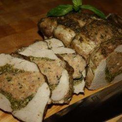 Stuffed Pork Loin Genoa Style recipe