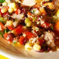 Crab Corn and Black Bean Salad recipe