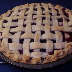 Blueberry and Blackberry Pie recipe