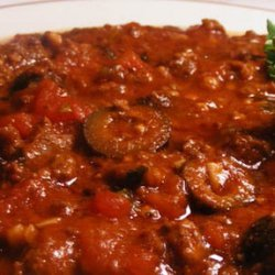 Mama Mia Crock Pot Spaghetti Sauce recipe